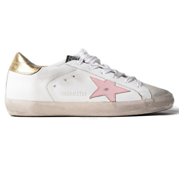 Golden Goose Shoes | Sneakers Pink Gold